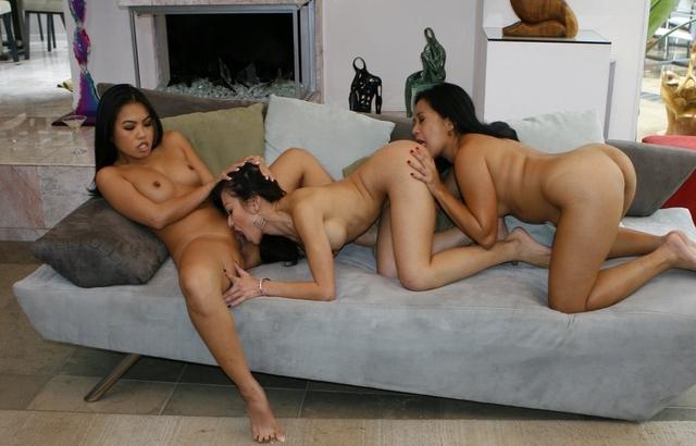 XXX Asians Cindy Starfall, Jackie Lin, Lucky Starr lesbian sex
